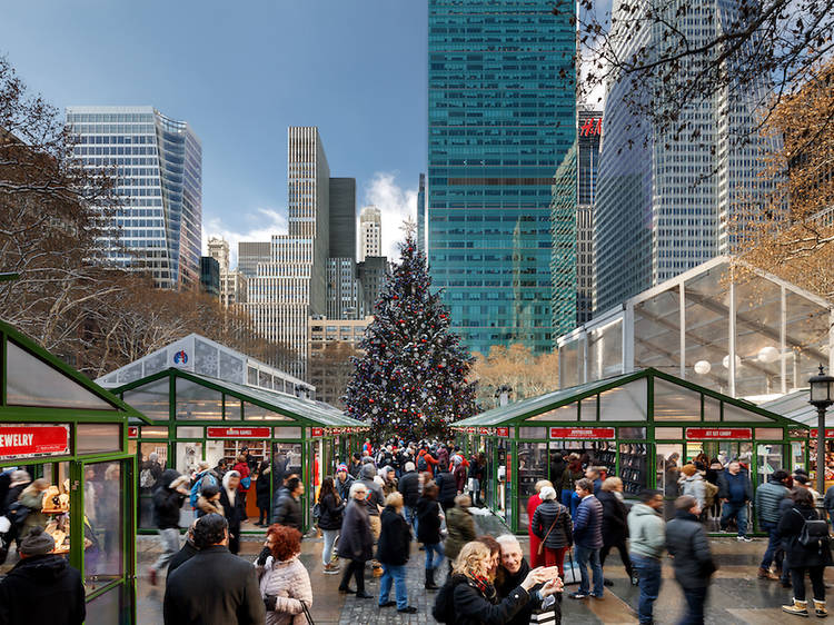 NYC's best holiday markets