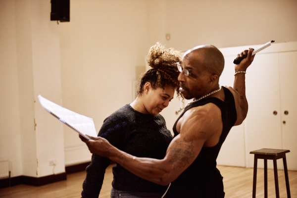 'Bullet Tongue' in rehearsal