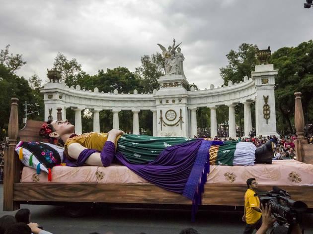 Desfile de Día de Muertos 2018 (Foto: Ivonne Gutiérrez)