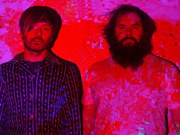 JB Dunckel & Jacques Perconte en MUTEK.MX