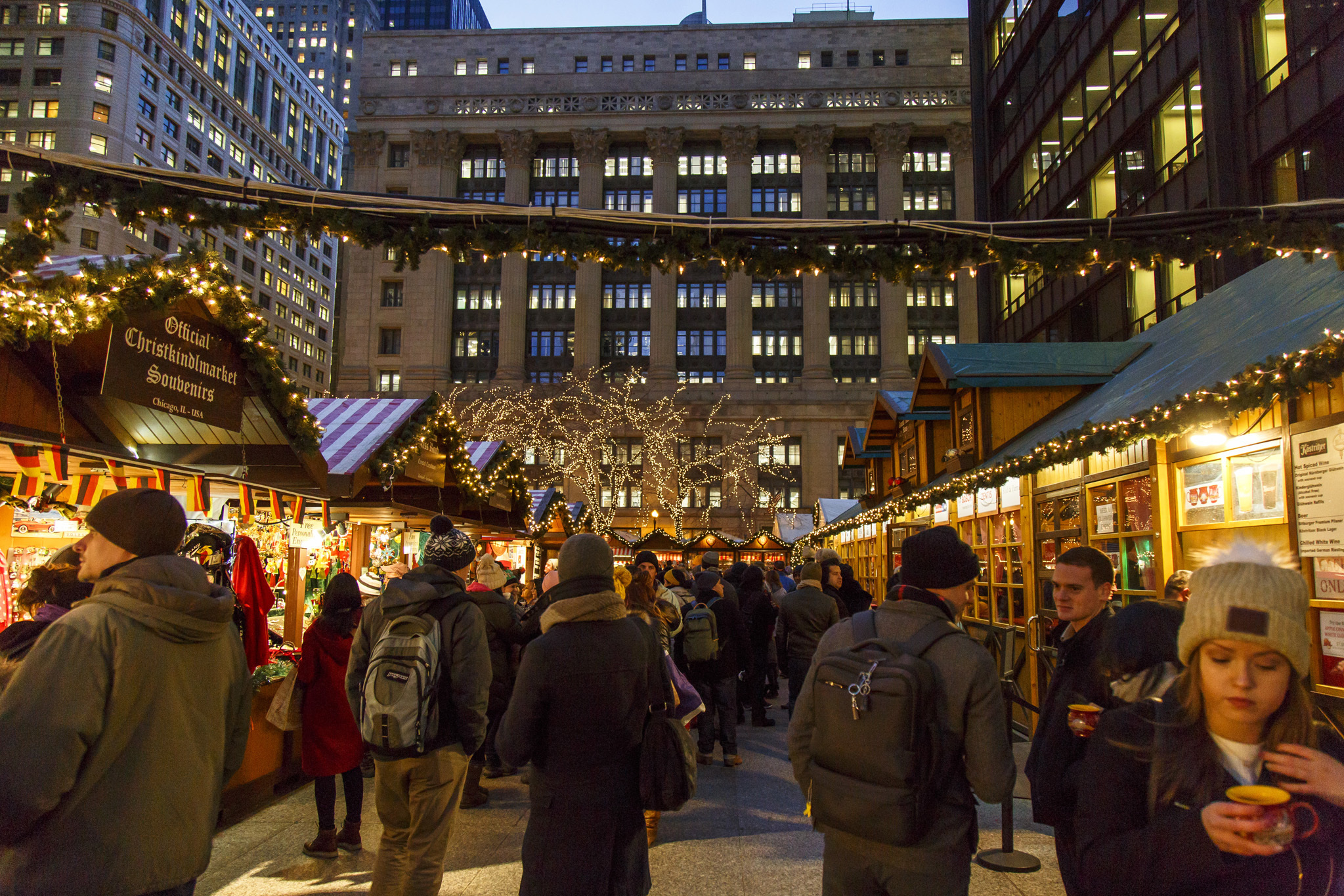 Experience holiday magic at Christkindlmarket Chicago