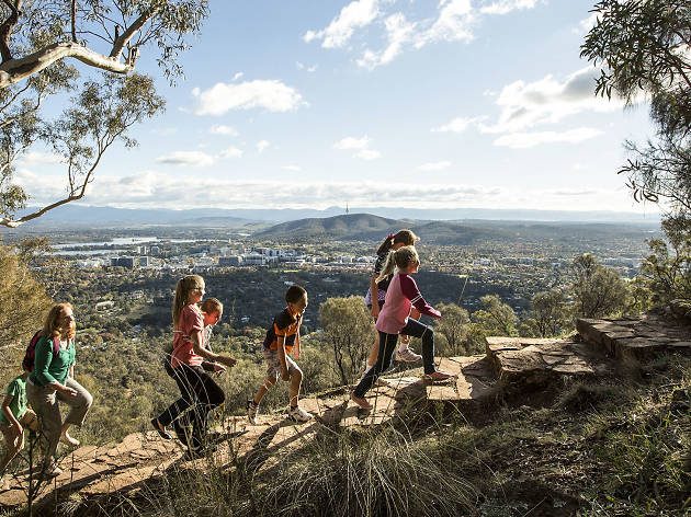 Mount Ainsile lookout, Canberra