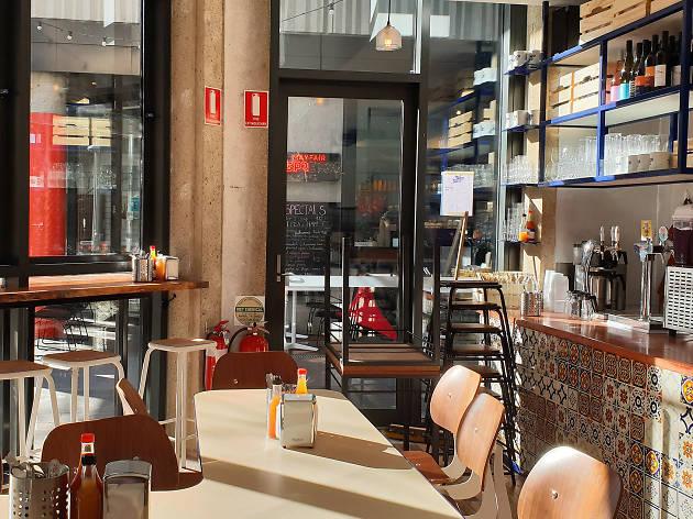 Interior at Taco Taco Canberra