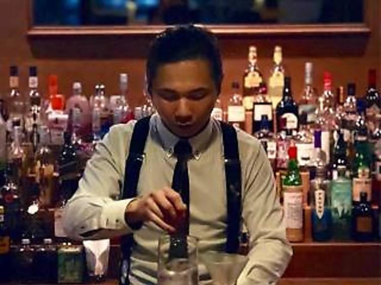 Ivin Hui 的調酒表演