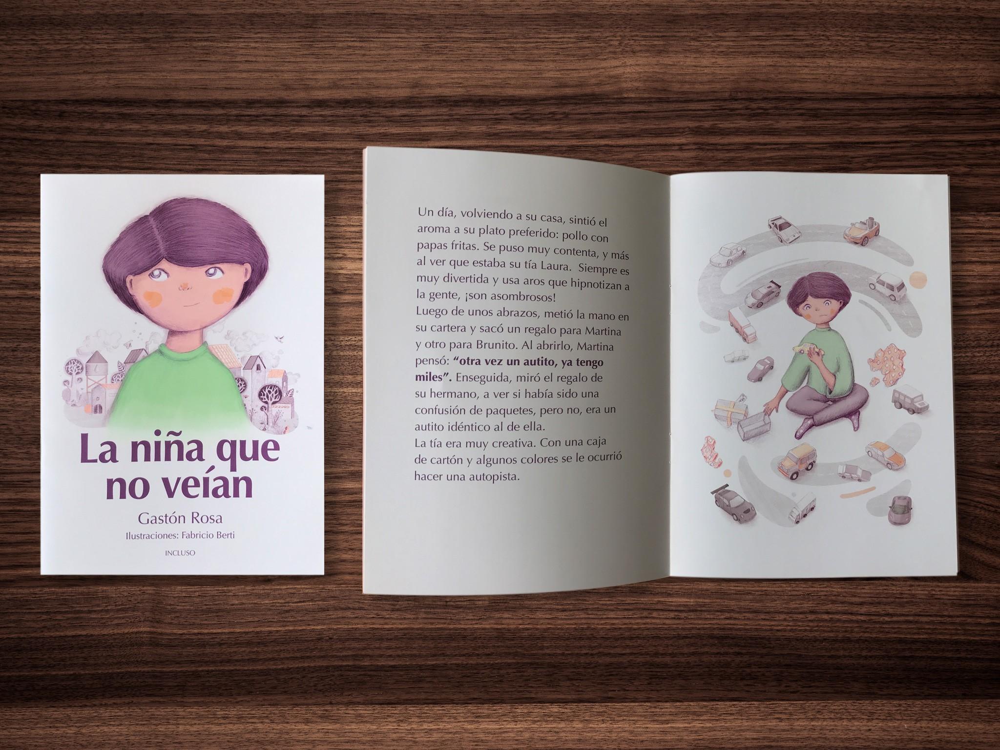 La niña que no veían, el primer cuento en Latinoamérica con una niña trans como protagonista
