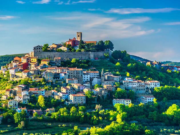 Five beautiful hilltop towns in Istria