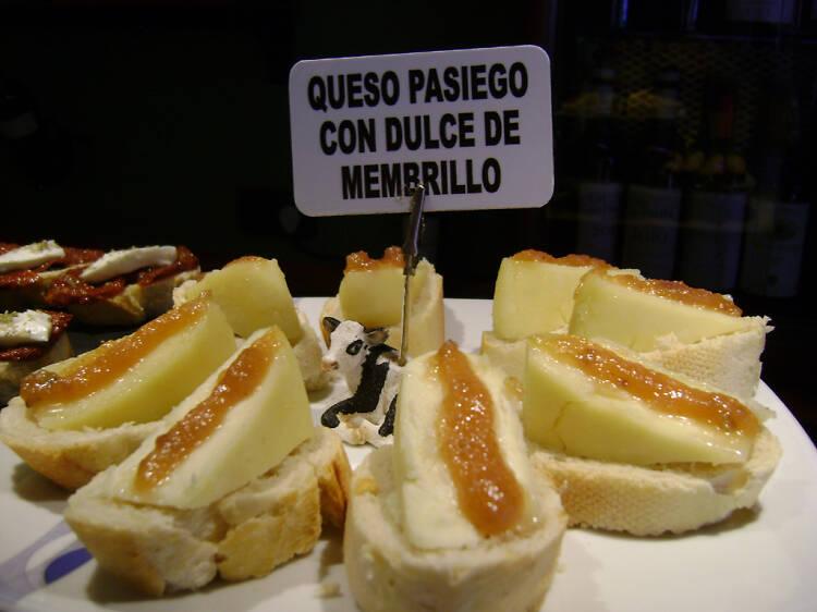 La crepe de queso del Gaztandegi