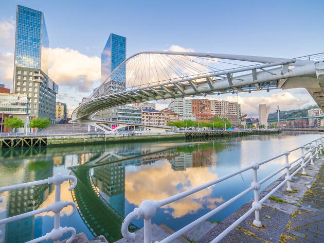 Puente Pedro Arrupe Bilbao