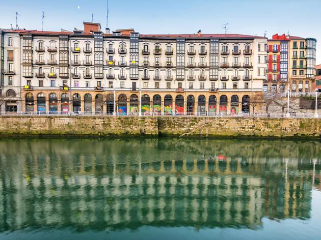 Muelles ría Bilbao