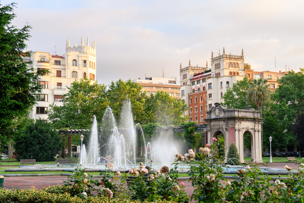Parque de doña Casilda Bilbao