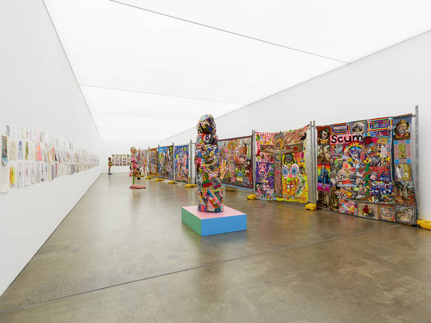 (Paul Yore, 'Your Capital is at Risk', Installation view. Photograph: Christo Crocker. Courtesy of the artist and Neon Parc.)