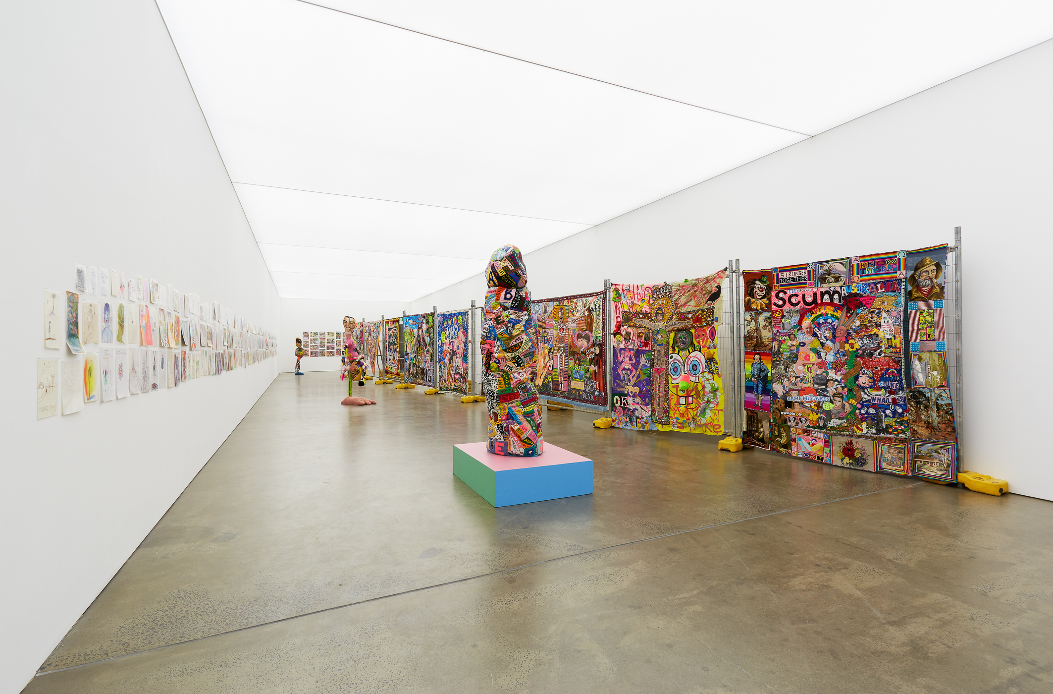 Paul Yore, 'Your Capital is at Risk', Installation view. Photograph: Christo Crocker. Courtesy of the artist and Neon Parc.