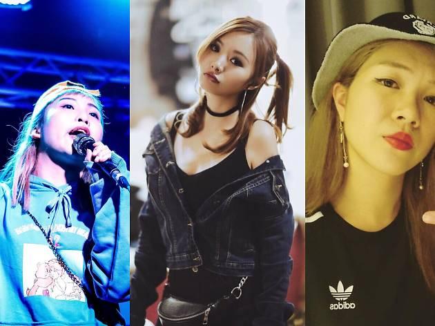 你要知道的五個本地女生 rapper