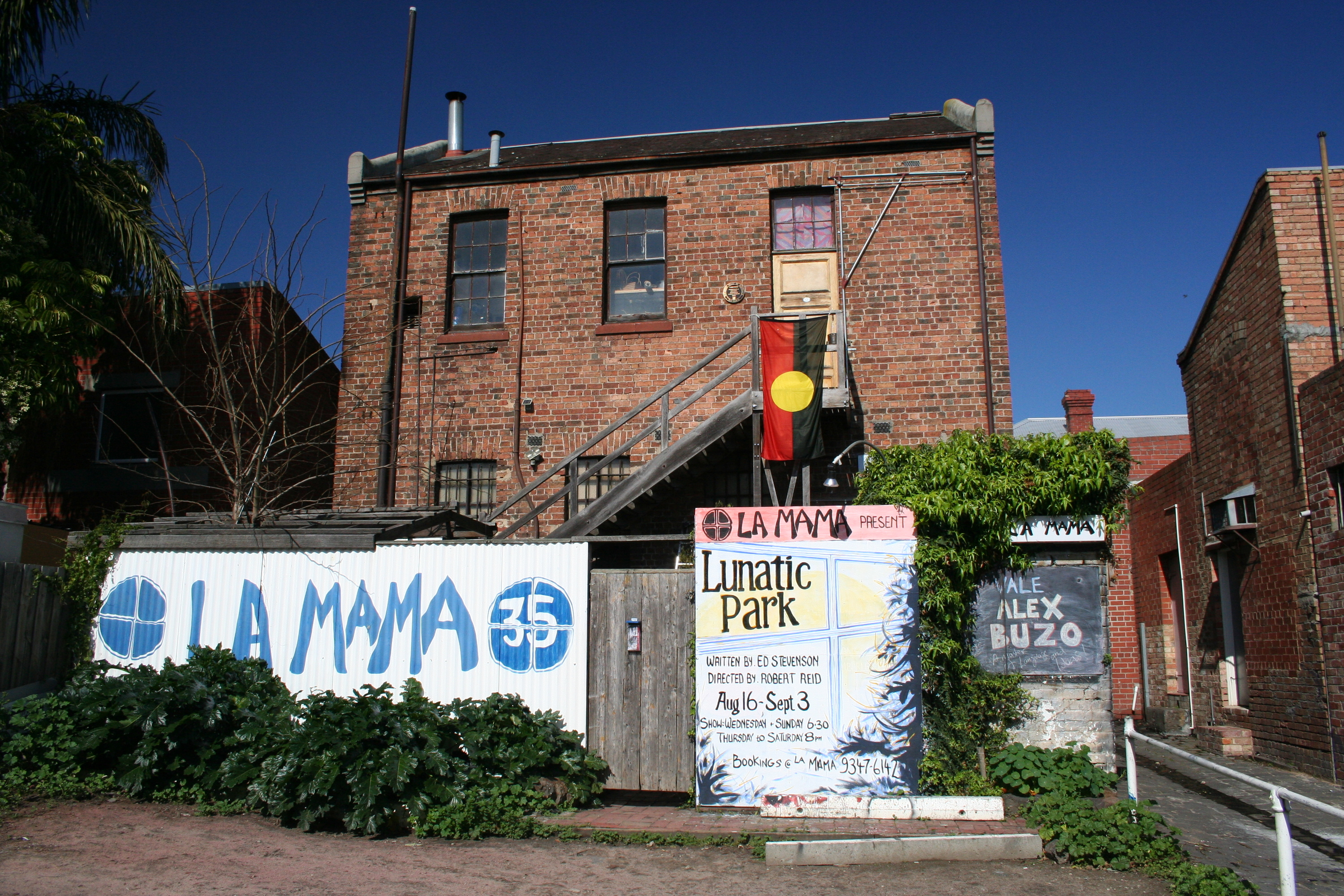Melbourne's beloved La Mama Theatre is set for a rebuild after a devastating fire
