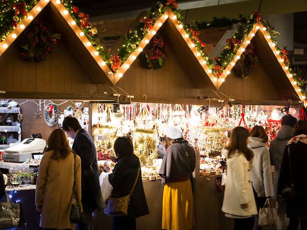 六本木ヒルズ クリスマスマーケット 2018