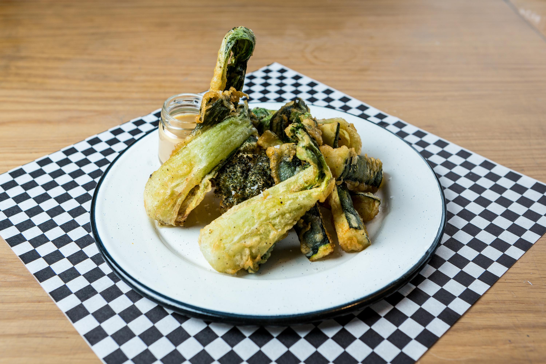 Veggie tempura do Crispy Mafya