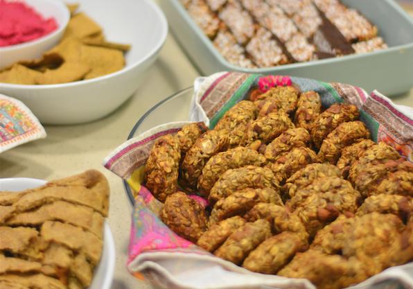 Workshops de lanches e snacks vegan