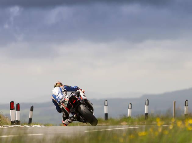TT Motorbike Isle of Man