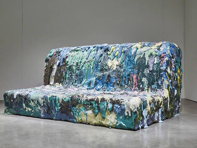 Four Seat Sofa by Sang Hoon Kim 2018, Cristina Grajales Gallery