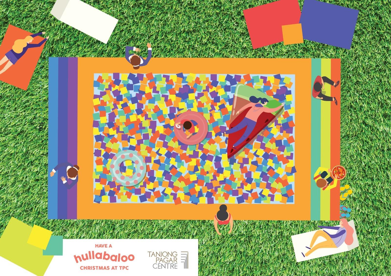 Hullabaloo Christmas at Tanjong Pagar Centre