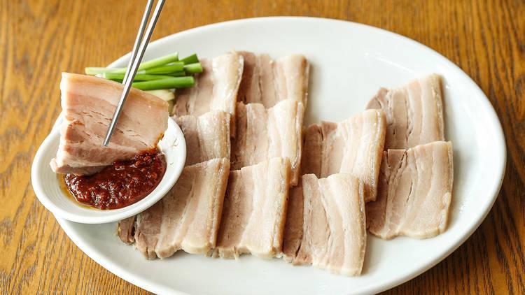 Pork at Mr Lees Foods