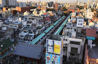 Sensoji Temple view