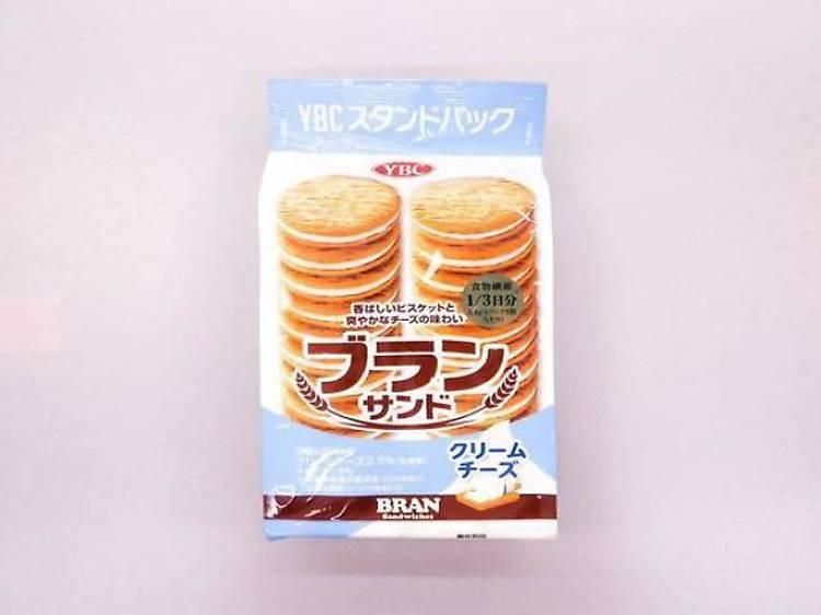 Bran cream sandwiches