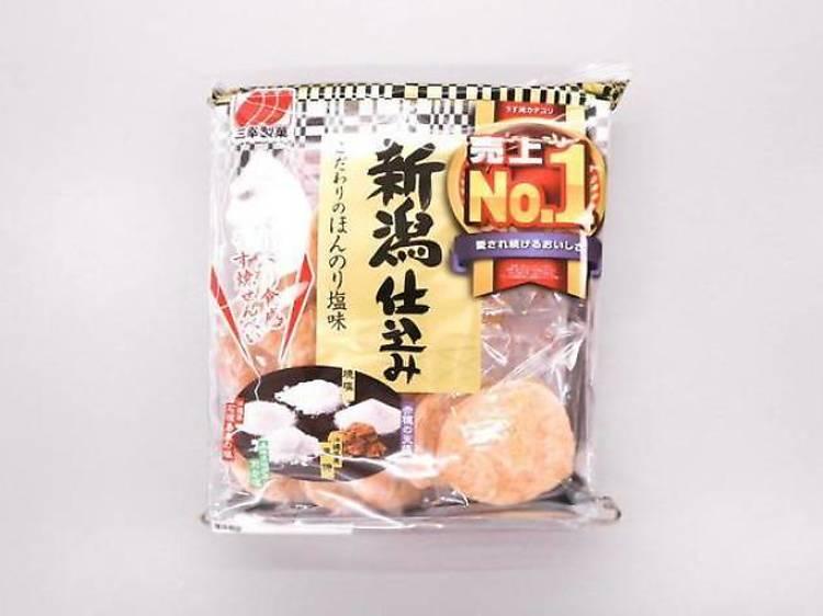 Niigatajikomi salted rice cracker