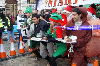 The Great Christmas Pudding Race
