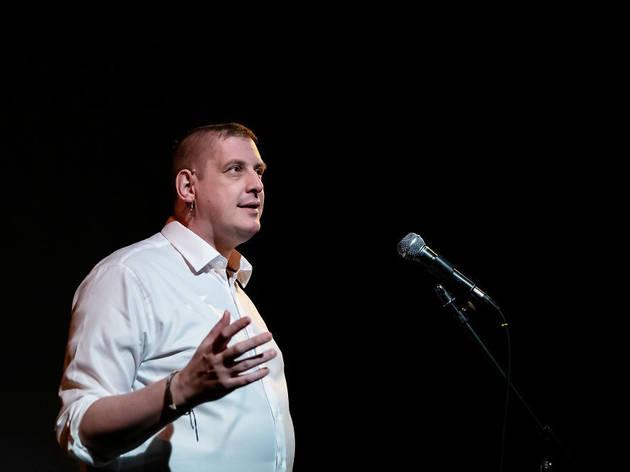 <p>Chris Goode performs 'Mirabel' at Ovalhouse</p>