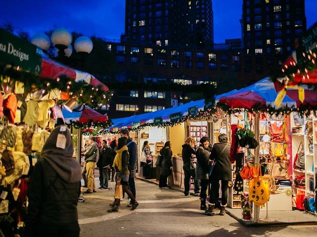 The Union Square Holiday Market opens next week