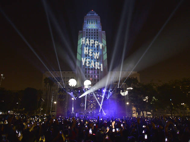 The best drive-in and virtual New Year's Eve events in Los Angeles