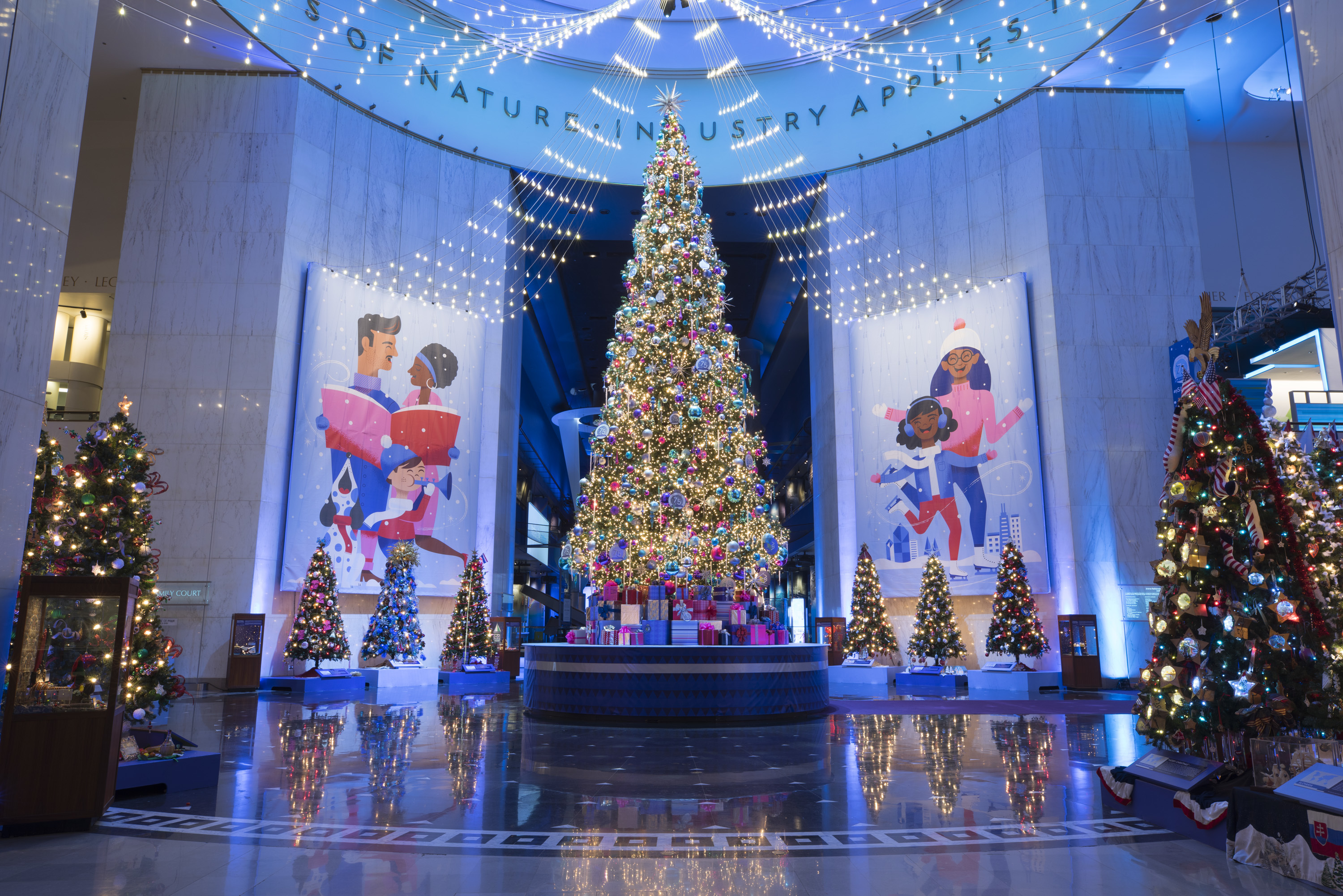 """Christmas Around The World Museum Of Science And Industry 2020 Christmas Around the World"""" 