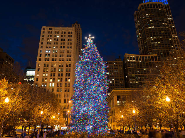 - City Of Chicago Christmas Tree Things To Do In Chicago