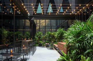 West Hotel atrium