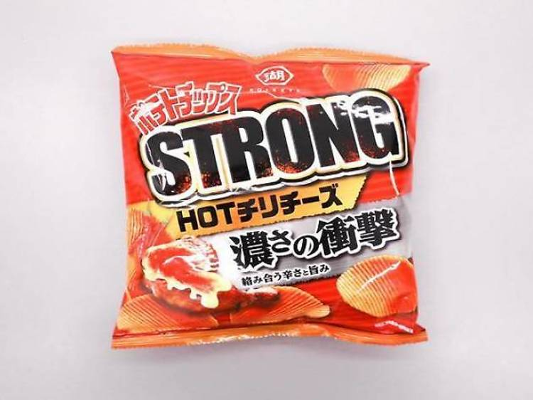 Strong potato chips