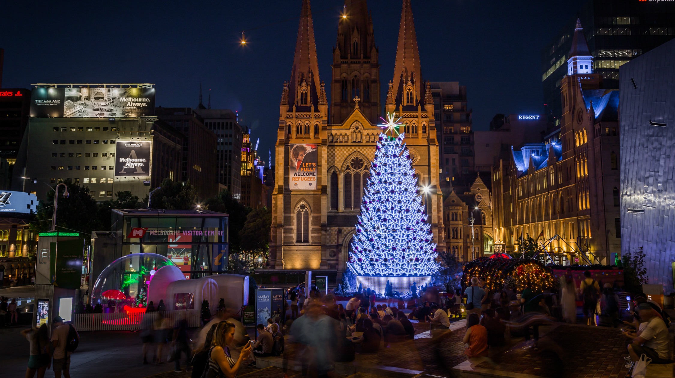 The Best Christmas Lights And Decorations In Melbourne