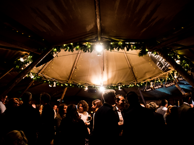 Win a VIP table in The Winter Retreat tipi for you and five friends