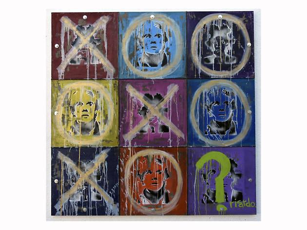 Ricardo Cardenas, El Juego de Warhol y Basquiat, Mexico