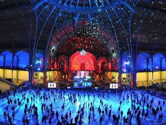 La plus grande patinoire intérieure éphémère du monde est de retour au Grand Palais