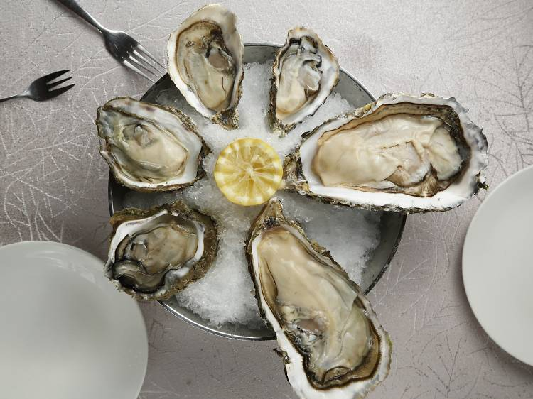 Chic by The Oyster House: oysters