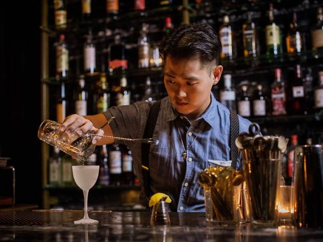 The Wilshire bartender