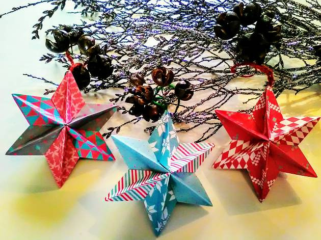 Christmas Origami.Christmas Origami Party Things To Do In London
