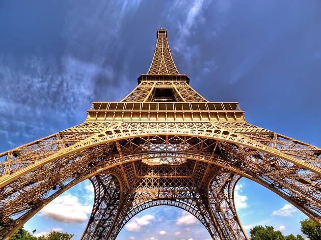 A la fin du mois, vente aux enchères d'un escalier originel de la Tour Eiffel