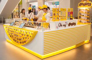 Primera tienda Donuts en Barcelona