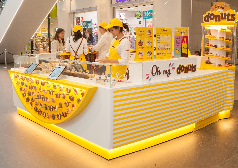 Donuts abre su primera tienda en Barcelona