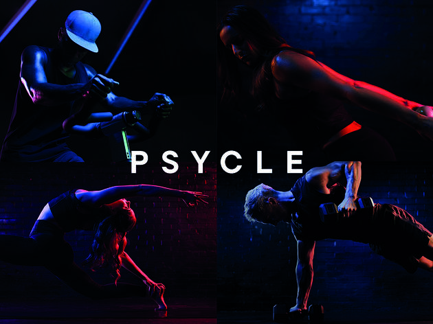 Four classes at Psycle