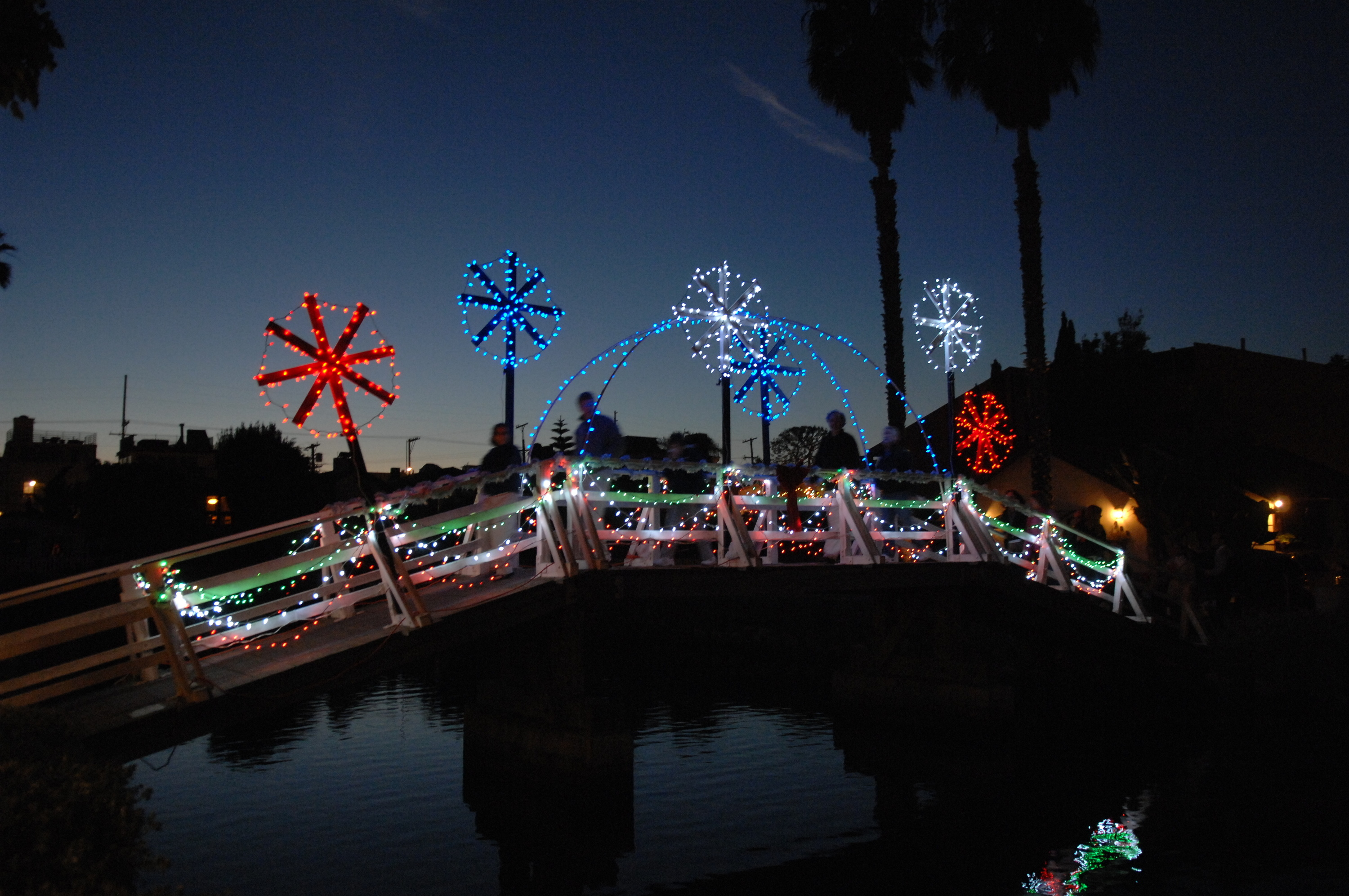 Where to see Christmas lights in L.A.