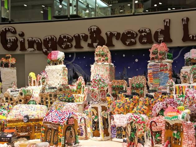 Check out the world's largest gingerbread village in Queens this weekend