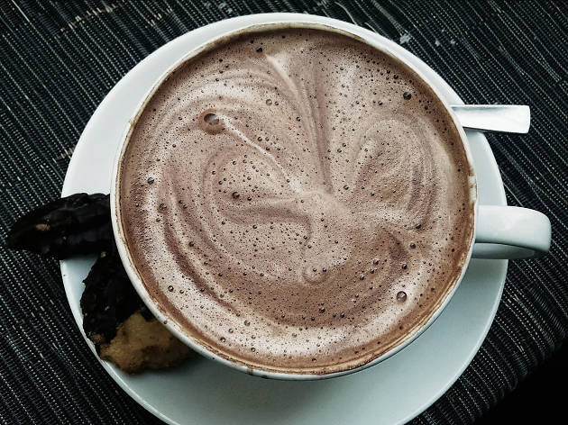 The best hot chocolate in Boston